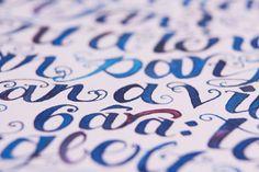 bigibogi | Poems in Calligraphy