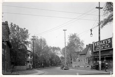 Former segment of Osgoode Street meeting with Nicholas. University Of Ottawa, Capital Of Canada, Ol Days, Good Ol, The Expanse, Ontario, Vintage Photos, Past, History
