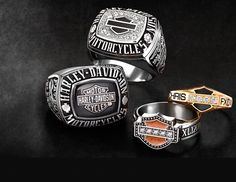 HarleyDavidson Rings Jostens Custom Rings cool stuff