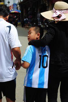 #Vietnam #Sapa #Messi