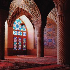 And it was really Colorful  Vakil Mosque | Shiraz, Iran #WHPlowaltitude