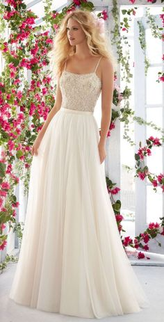 Courtesy of Morilee By Madeline Gardner Voyagé Collection; Wedding dress idea.