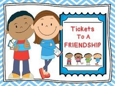 """Get your friendship tickets here:) Tickets To A Friendship is an activity that helps players identify social skills that are important in developing friendships. The activity explores two different characters, Jon and Ali, who are accepting tickets to their friendship."