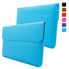 Surface Pro 3 / 4 Case, Snugg™ - Leather Sleeve Case with Lifetime Guarantee (Cyan) for Microsoft Surface Pro 3 / 4 Snugg http://www.amazon.com/dp/B00M31BJPO/ref=cm_sw_r_pi_dp_OPfiwb027TB2H