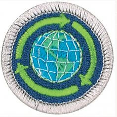 The boy Scouts of America have introduced The Sustainability merit badge. Cub Scouts, Girl Scouts, Boy Scouts Merit Badges, Boy Scout Camping, Boy Scout Patches, Scouts Of America, Fabric Patch, Environmental Science, Sustainability