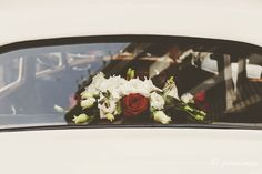 Details from a wedding car