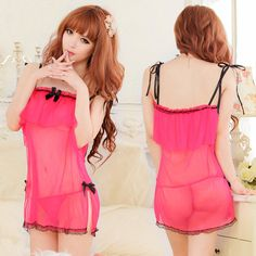 2017 condole belt bow bind extremely transparent sexy nightwear exposed breast bow rayon adult pajama temptation sexy lingerie