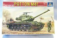 Vintage Italeri General Patton M 47 U.S. Tank Model Kit - NEW-#208--1:35 Scale