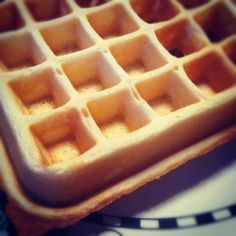 Baking is Cheaper than Therapy: Perfect Waffles - Seriously!