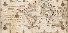 mapa mundi de domingos teixeira 1573