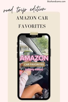Make your next road trip easier with these Amazon car favorites! #roadtripessentials #roadtrip #amazonfinds #tiktokamazonfinds #amazonfinds2021