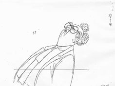 scurviesdisneyblog:    Mr. Snoops pencil test by Milt Kahl