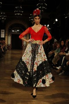Traje de Flamenca - Plataforma-de-disenadores-emergentes - We-Love-Flamenco-2016
