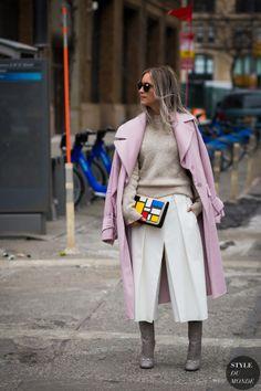 Charlotte Groeneveld Street Style Street Fashion Streetsnaps by STYLEDUMONDE Street Style Fashion Photography