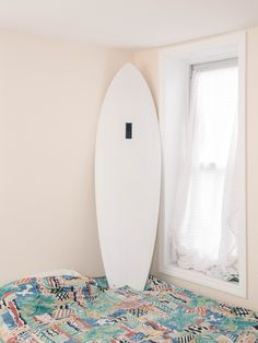 "BLIND GRANDMA- 5'10"" WHITE Dimensions: 5'10"" x 20.5"" x 2.65"" Color: White Fin Setup: Quad More info @ saltsurf.com"
