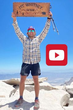 Thru Hiking, Hiking Trails, John Muir Trail, Beautiful Park, Men's Fitness, Best Hikes, Survival Skills, Backpacking, Music Videos