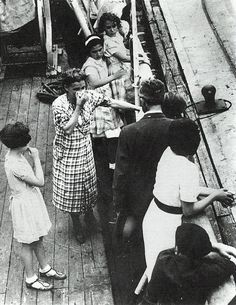 1939: A woman cries by her children after the refugees on the St. Louis were denied entry into the U.S. The family was among over 900 passengers, Jews fleeing the Third Reich. The ship returned to Europe on June 6, 1939 with some passengers gaining entry into Great Britain, the Netherlands, Belgium, and France.NEVER FORGET. LEARN FROM SO WE AVOID PAST MISTAKES