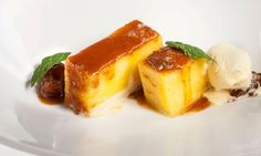 Receta de Piña asada a la miel