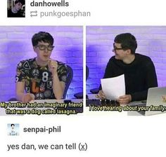 We love hearing about Phil's family too