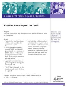 There are many programs for first time home buyers. Do you know...