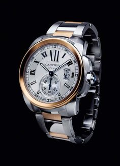 Calibre de Cartier. Rose Gold