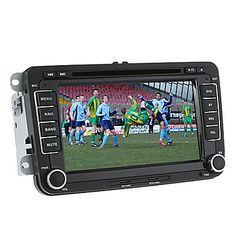 7 pollici lettore DVD per Volkswagen con GPS, TV, iPod, Bluetooth – EUR € 173.24