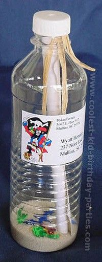 Message in a bottle - souvenir from the dance. Or get mini bottles and make into a   swap.