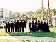 Wedding Party Portrait Photography Pose Inspiration
