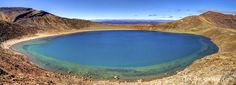 The Blue Lake - Tongariro Crossing, New Zealand