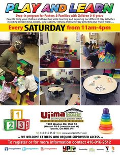Saturdays | YPF Play and learn