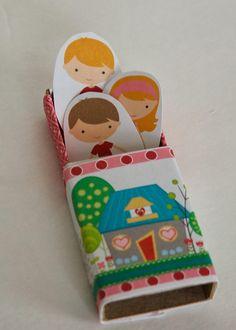 Free Printable Valentine craft matchbox restless risa