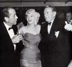 with Humphrey Bogart and Clifton Webb