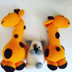 Good family #knitted #toys #forchildren #notonlyforchildren www.alterdeco.cz