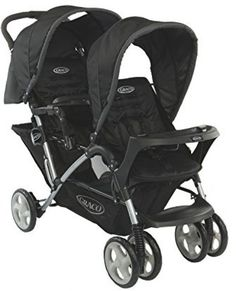 Duo Pushchair Oxford Baby Toddler Stroller Babies Child Up 3 Year Comfort Safety