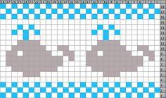Ravelry: Whale Chart pattern by Stefanie Goodwin-Ritter (FREE PATTERN)