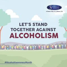Lets join together for an Alcohol Free Society and #SayNoToAlcohol during #AlcoholAwarenessMonth