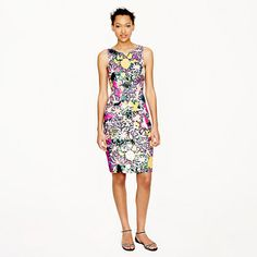 Collection tropical sequin dress - 25% off any order at jcrew.com for 48 hours with code SECRET.