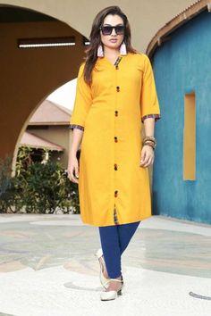 - Collection Rayon Stylish in Yellow With Dupatta Eid Dresses, Pakistani Dresses, Indian Dresses, Stylish Kurtis, Traditional Dresses, Party Dress, Shirt Dress, Yellow, Lady