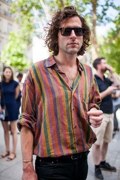 Out and about at Paris Mens Spring 2017 Fashion Week | button up shirts