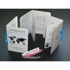 """Menu Forme """"Passeport"""" réalisé par www.laboutikdangelik.com"""
