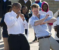 Prince Henry having fun in Belize