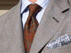 Sam Hober Madder Tie