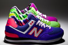 New Balance 574 Yacht Club...love the bright colors!