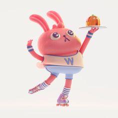 Character 3d Model Character, Character Art, Character Design, 3d Cartoon, Cartoon Characters, Modelos 3d, 3d Artwork, Monster Art, Vinyl Toys