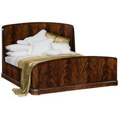 Jonathan Charles Mahogany Biedermeier California King Bed