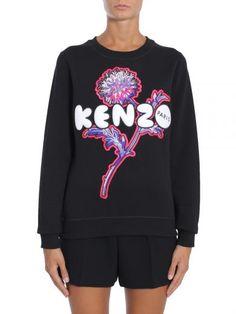 KENZO Felpa Girocollo. #kenzo #cloth #fleeces-tracksuits