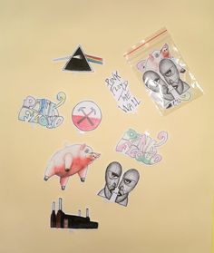 Battersea Power Station, Sticky Paper, Pink Floyd, Art For Sale, Division, The Darkest, Etsy Shop, Stickers, Artwork