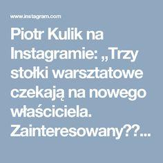 """Piotr Kulik na Instagramie: """"Trzy stołki warsztatowe czekają na nowego właściciela. Zainteresowany??? zadzwoń lub napisz. Tel. 515325335 #vinagestools #indusrialstools…"""" • Instagram"""