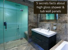 5 Secret Facts About High Gloss Acrylic Shower And Tub Wall Panels