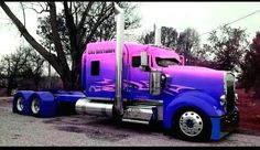 Kenworth is proven to take seriously the needs of truckers and does everything to improve the performance of the it's trucks. Whether one buys a fresh or used semi truck, the dog owner is assured Show Trucks, Big Rig Trucks, Dump Trucks, Old Trucks, Custom Big Rigs, Custom Trucks, Trucks And Girls, Peterbilt Trucks, Camping Car